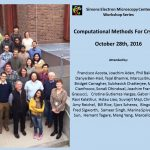 Friday, 10/28/16 – Computational Methods for CryoEM Workshop