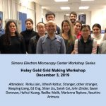 Holey Gold Grid Making Workshop